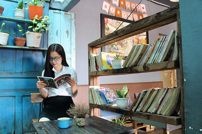 Cafe sách thư viện
