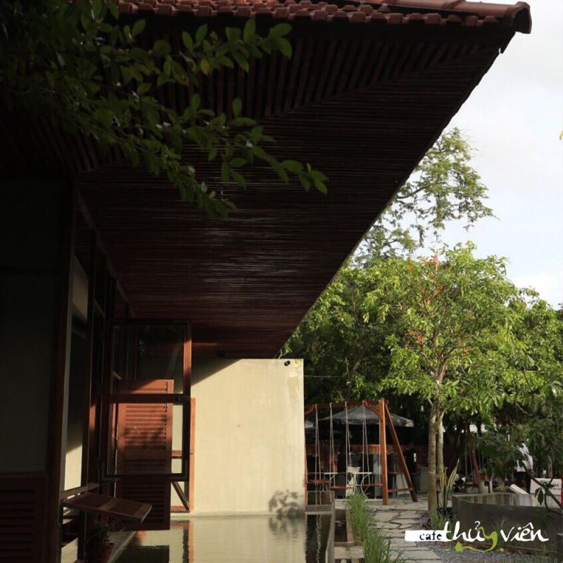 Cafe Thủy Viên mang đến khách hàng không gian khoáng đãng cho những buổi sáng khởi động ngày mới