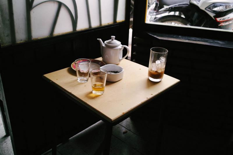 Đồ uống tại Cafe Tùng