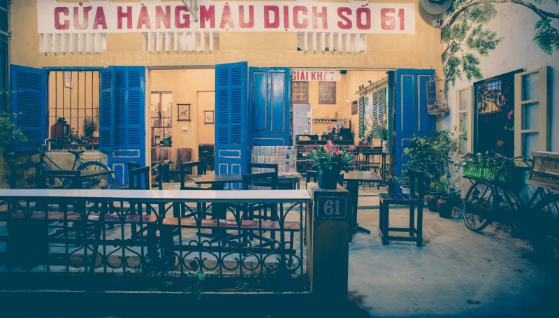 Cafe xưa 61 Nguyễn Biểu - Hòa Bình