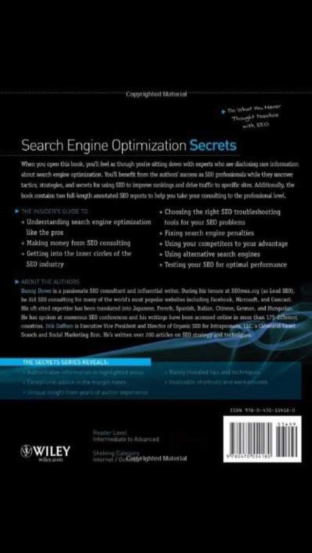 Search Engine Optimization Secrets – Danny Dover