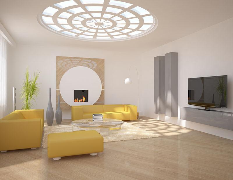 Khung cửa càng rộng thì lượng ánh sáng tự nhiên tràn vào nhà càng lớn.