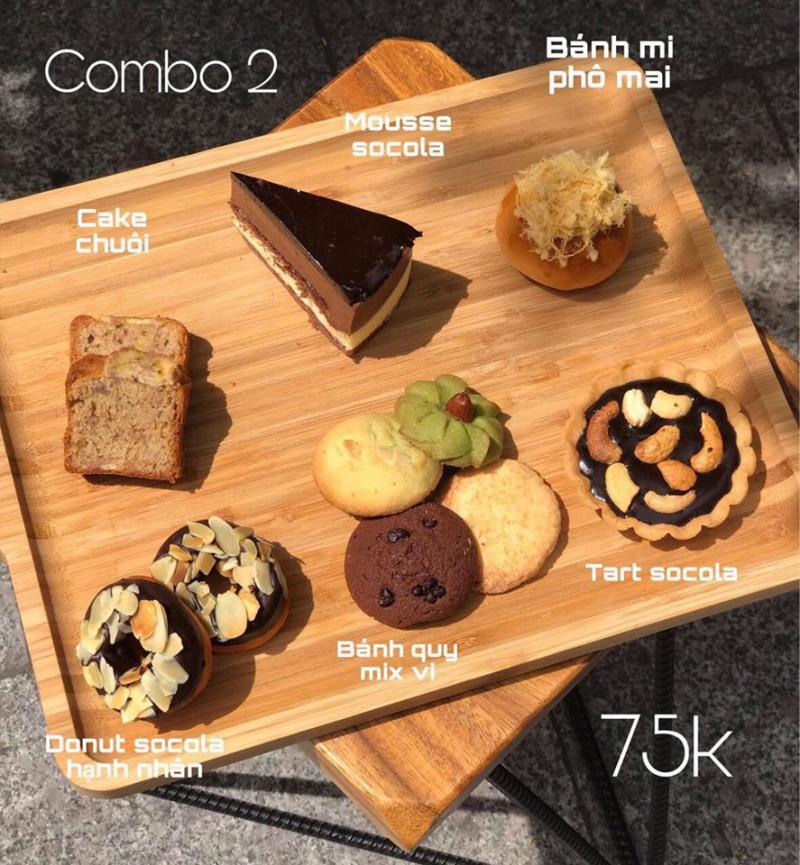 Đắm say cùng Combo bánh ngọt nhà Cake Crush.
