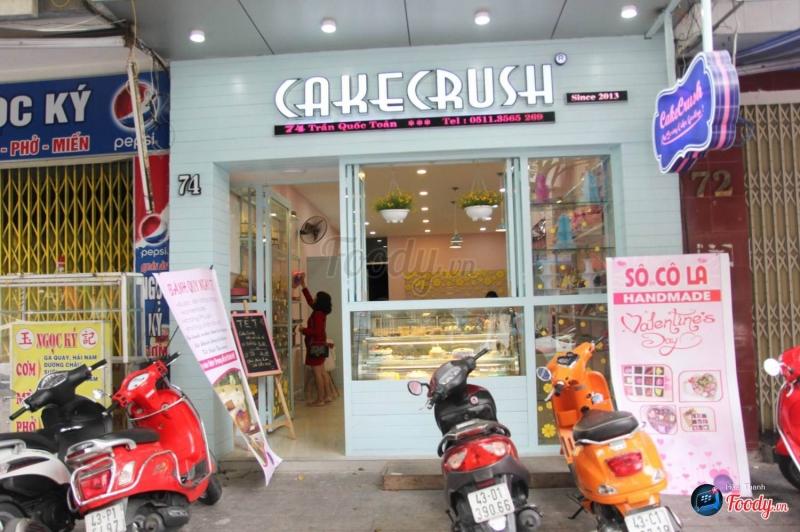 Cửa tiệm Cake Crush tại Đà Nẵng