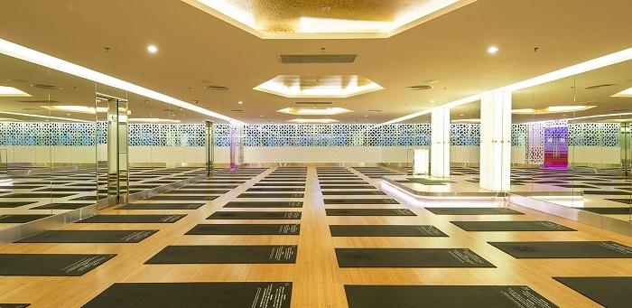 Phòng tập Yoga đạt chuẩn 5 sao