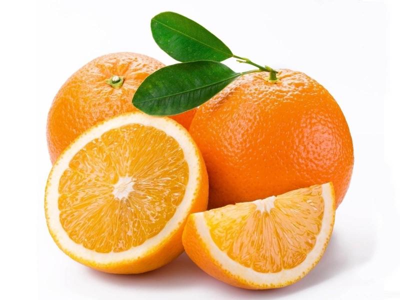 Cam chứa nhiều vitamin C giúp chống oxy hoá