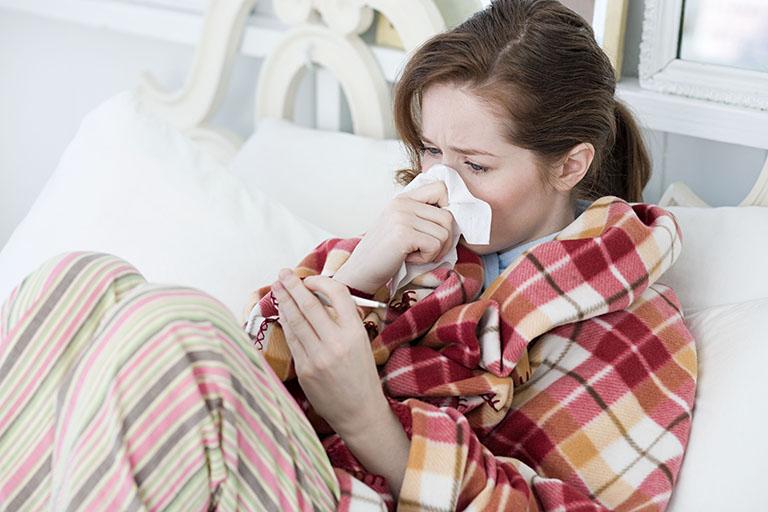 Bệnh cảm cúm gây mệt mỏi cho con người