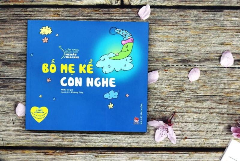 Cuốn sách Cẩm Nang Dành Cho Mẹ Bầu Và Thai Nhi – Bố Kể Con Nghe