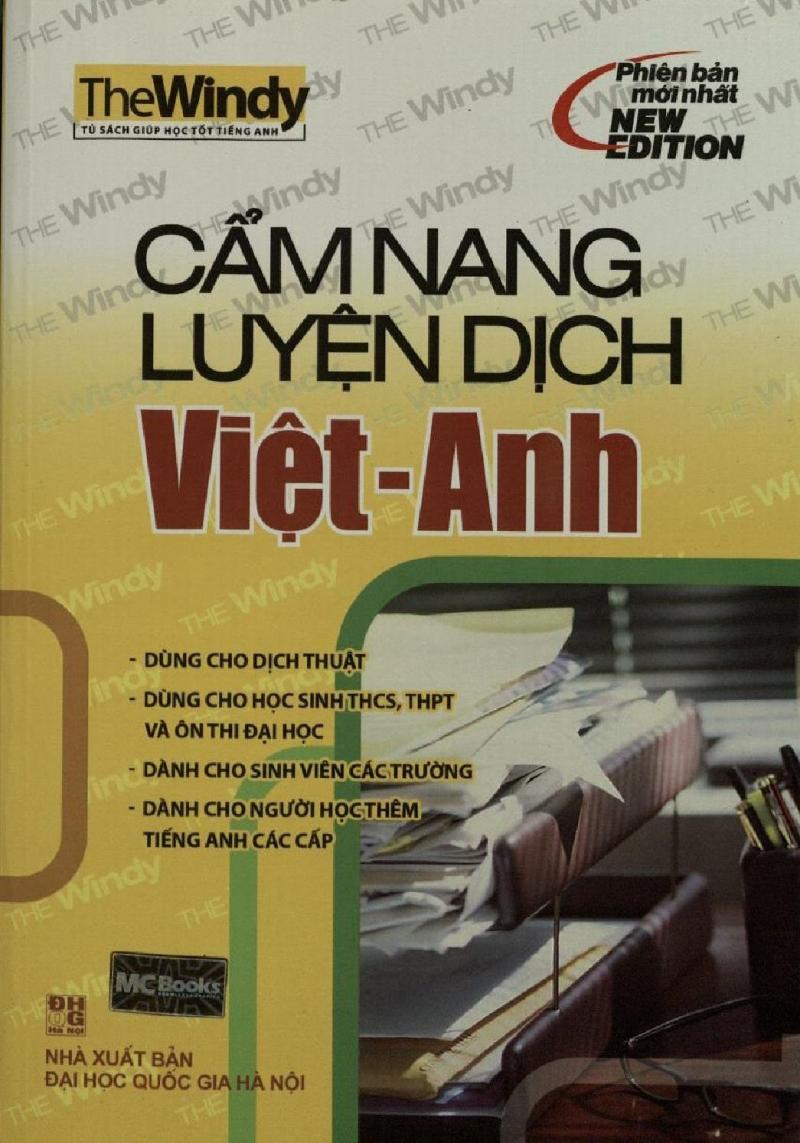 Cẩm nang luyện dịch Việt - Anh