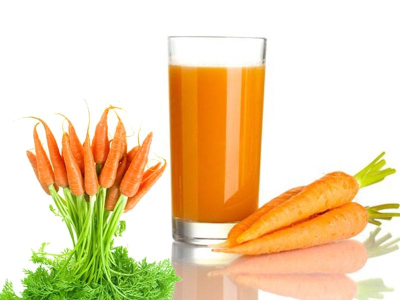 Cầm nhanh tiêu chảy ở trẻ bằng cà rốt