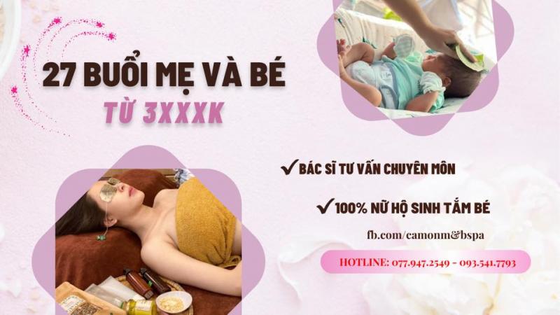 Cam On M&B - Spa cho mẹ và bé theo phương pháp Nhật Bản