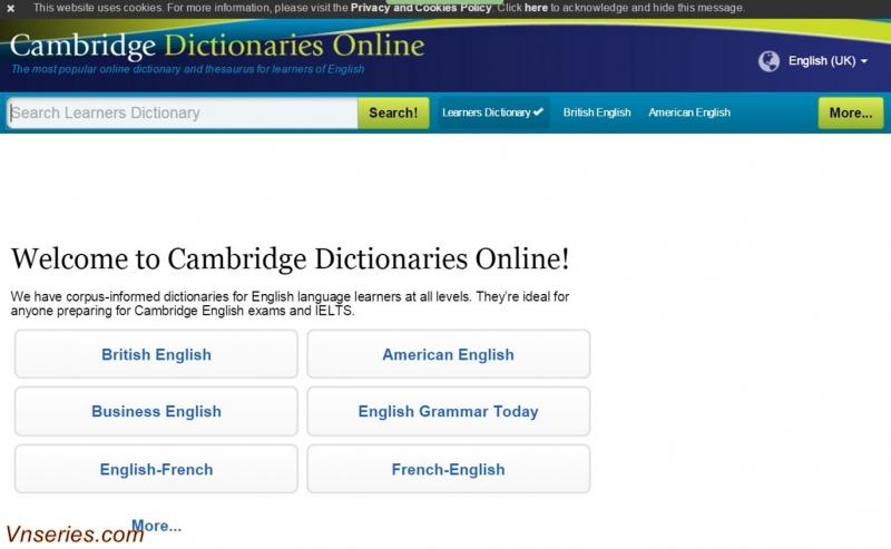 Bạn tha hồ mà tra cứu từ vựng với từ điển online