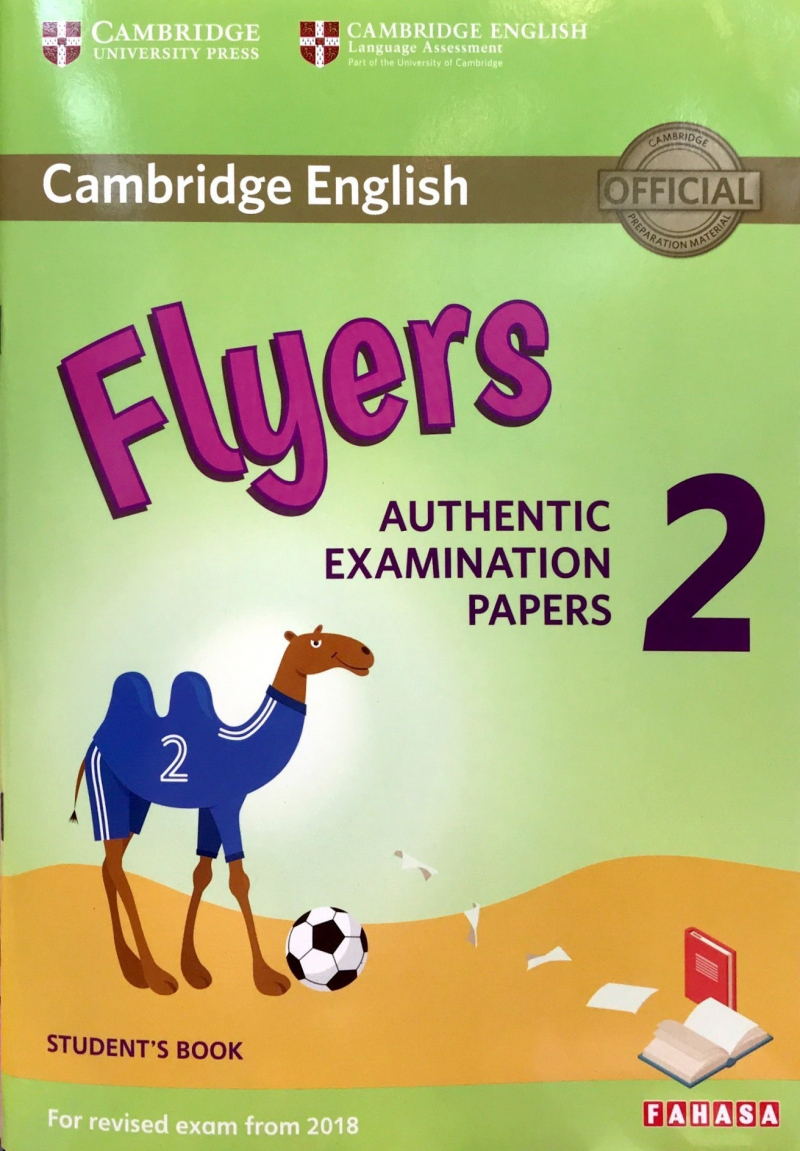 Cambridge Flyers Authentic examination papers 2