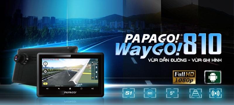 Thiết bị dẫn đường Vietmap PAPAGO Waygo 810