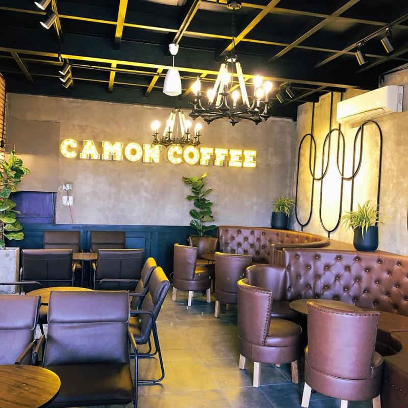 Camon Coffee tại 25 Lê Hồng Phong là nơi có view đẹp thuộc diện nhất nhì TP. Đông Hà