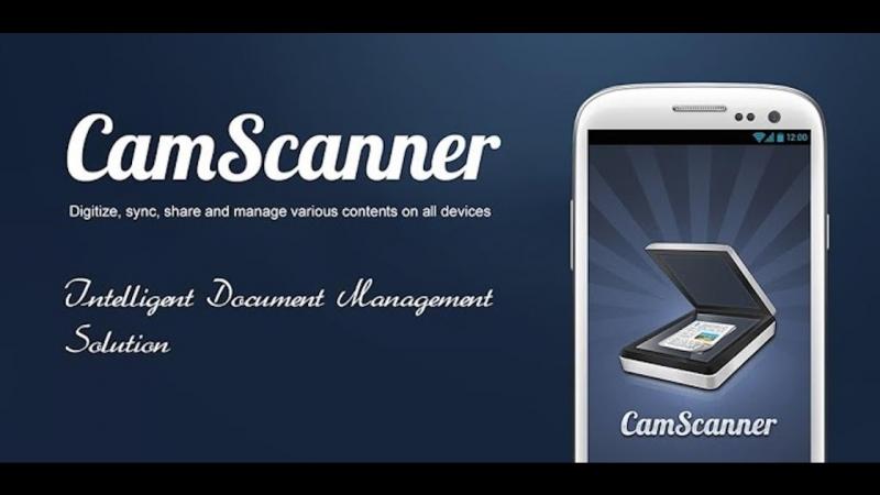 CamScanner sẽ biến điện thoại của bạn thành một máy quét
