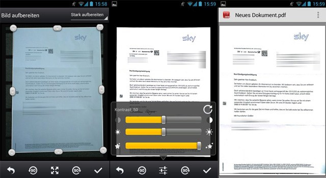 CamScanner cho Android