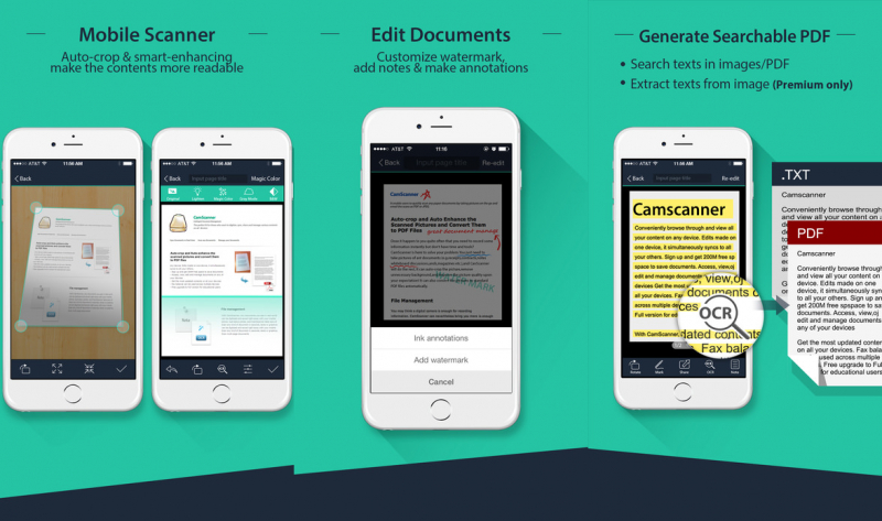 CamScanner Free for iOS