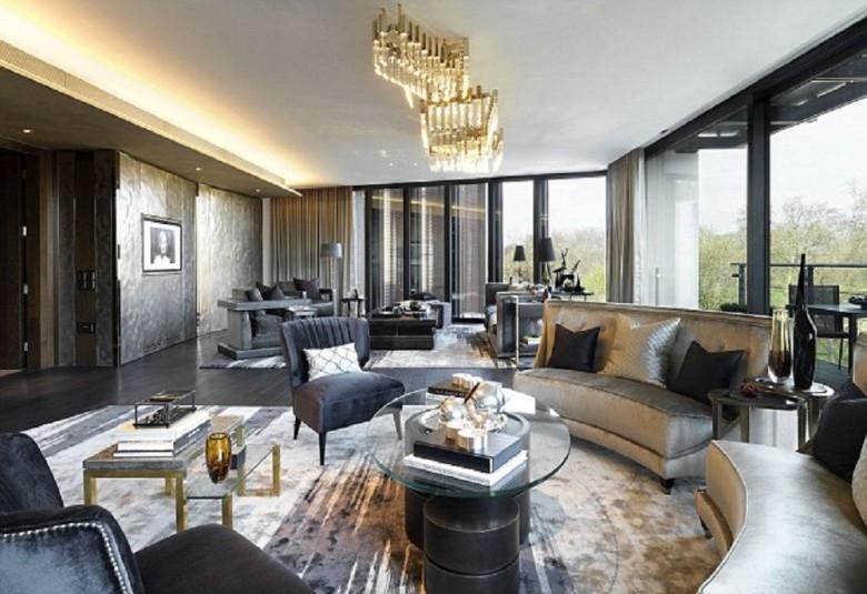 Căn hộ Penthouse, One Hyde Park tại thành phố London, Vương Quốc Anh – Có giá: 200 triệu đô la Mỹ