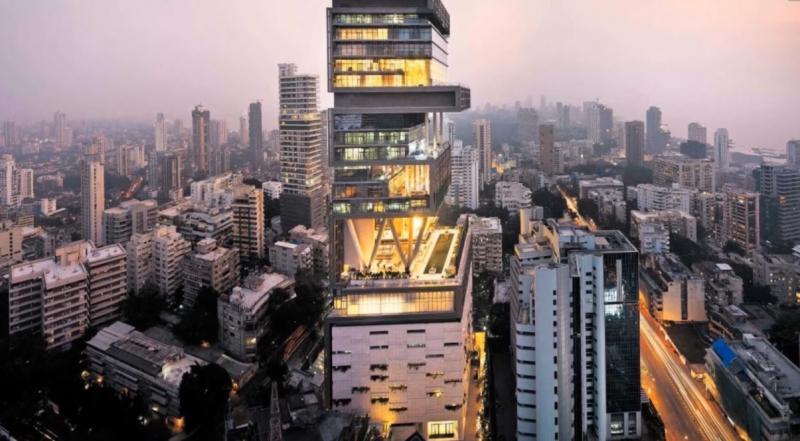 Căn nhà đắt nhất thế giới - Antilia Tower