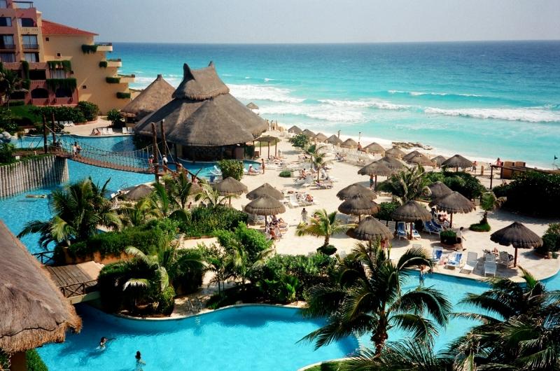 Cancun được mệnh danh là thành phố ven biển đẹp nhất Mexico