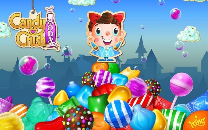 Candy Crush Soda Saga với hình ảnh dễ thương