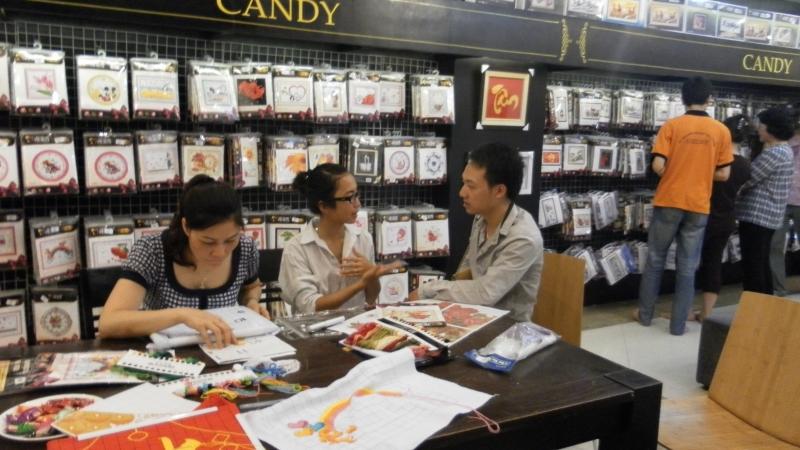 Shop Candy với nhiều mặt hàng