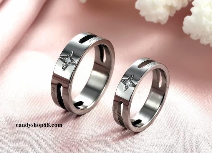 Nhẫn đôi tại Candy Shop