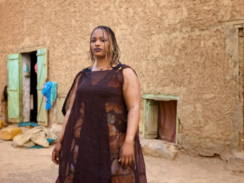 Quan niệm về phụ nữ càng mập trông càng  gợi cảm của tộc người Mauritania