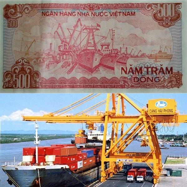 Cảng Hải Phòng (tờ 500 đồng)