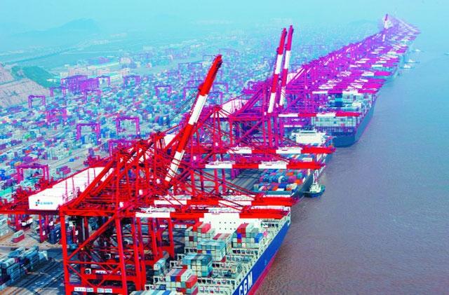 Cảng Ninh Ba - Chu Sơn lớn thứ 5 trên Thế Giới