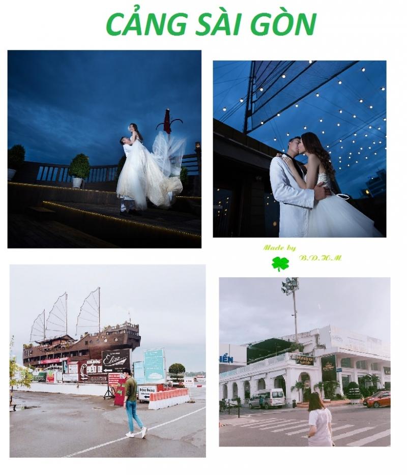 Những shoot hình lung linh ở cảng Sài Gòn - Nguồn: Sưu tầm