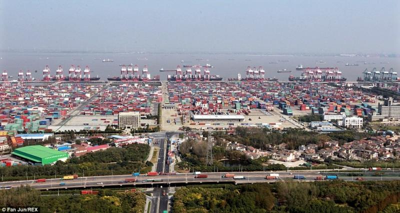 Cảng Thượng Hải lớn nhất trên Thế Giới