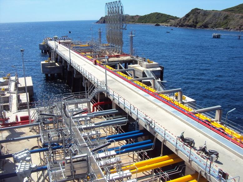 Hệ thống cầu cảng