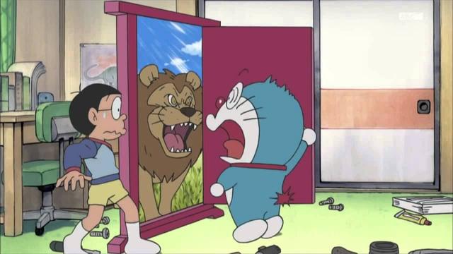Nào chúng ta cùng sang Châu Phi săn sư tử nhé, bước qua cánh cửa này là đến thôi