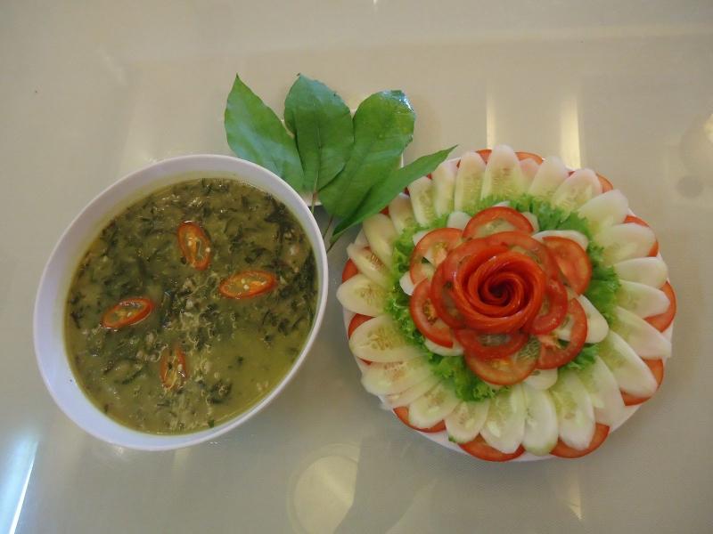 Canh đắng là món ăn nổi tiếng của đồng bào Mường Thanh