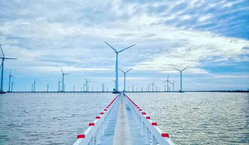 Bac Lieu wind power field