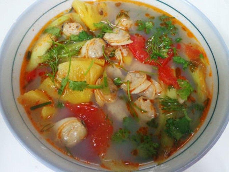 Canh ngao nấu chua - món ăn giải nhiệt cho cả gia đình