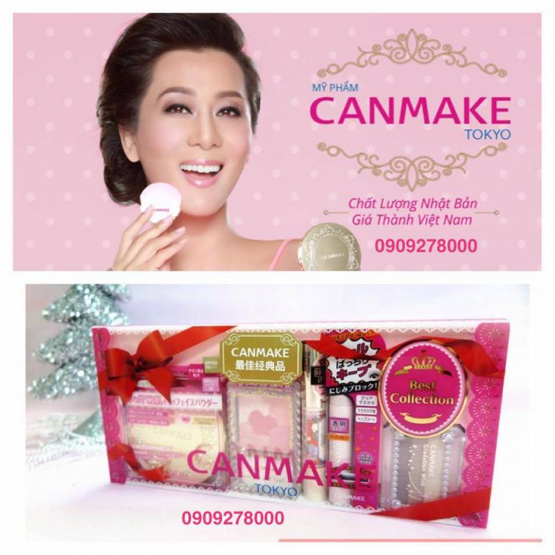 Các sản phẩm Canmake được tạo từ nguyên liệu thiên nhiên 100%, có xuất xứ rõ ràng.