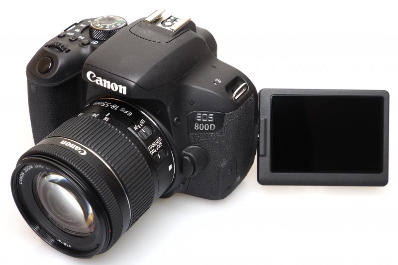 CANON 800D Kit 18-55mm