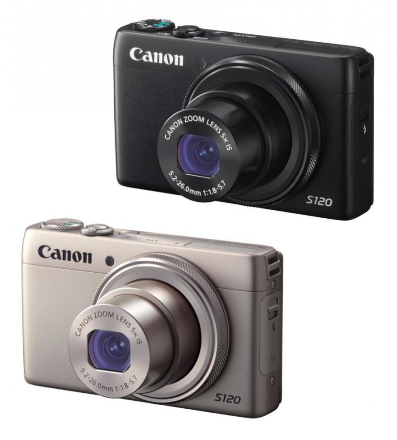 Màu máy ảnh Canon PowerShot S120