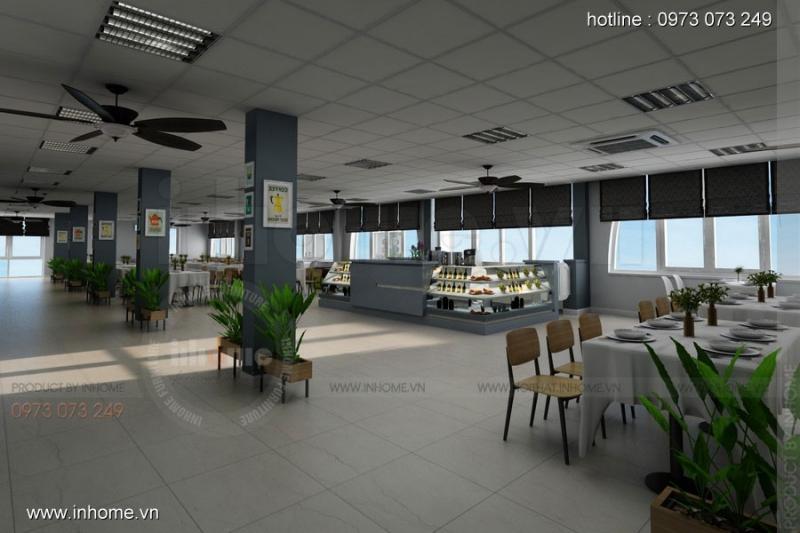 Thiết kế canteen độc đáo