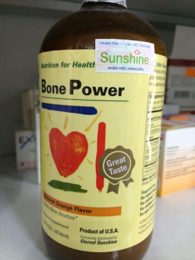 Canxi sữa Childlife Bone Power