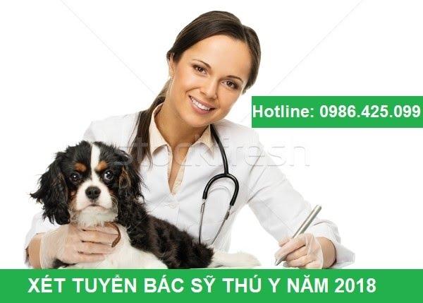 Đăng ký xét tuyển ngành Bác sỹ thú y năm 2018