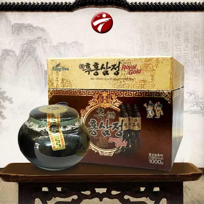 Cao hắc hồng sâm Hàn Quốc – hộp 1kg