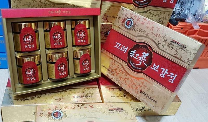Cao hồng sâm 6 năm tuổi Hàn Quốc Hộp Gỗ Đen