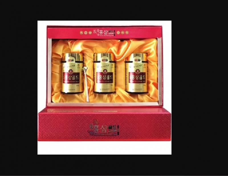Cao hồng sâm Hàn Quốc hộp 3 lọ x 240g