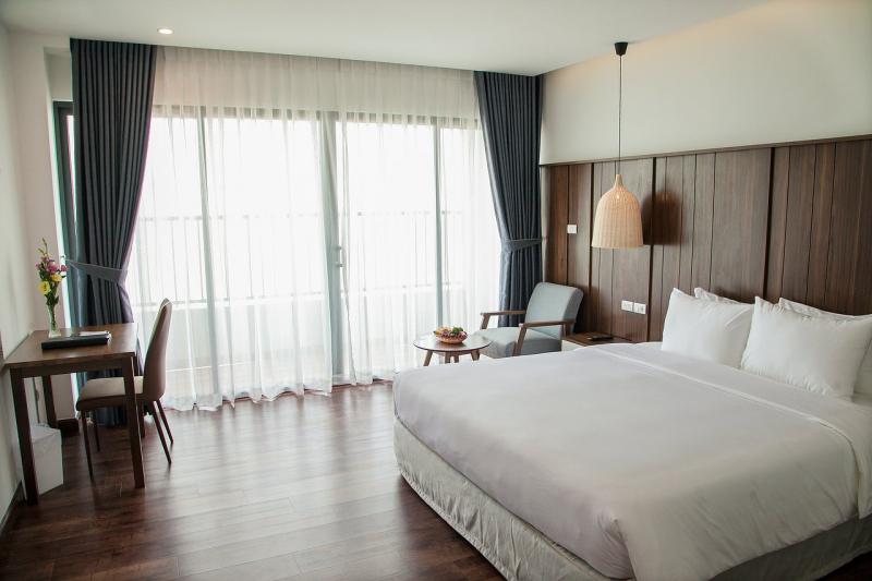 Không gian khách sạn Cao Hotel