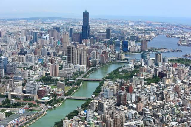 Cao Hùng, Đài Loan nhìn từ trên cao