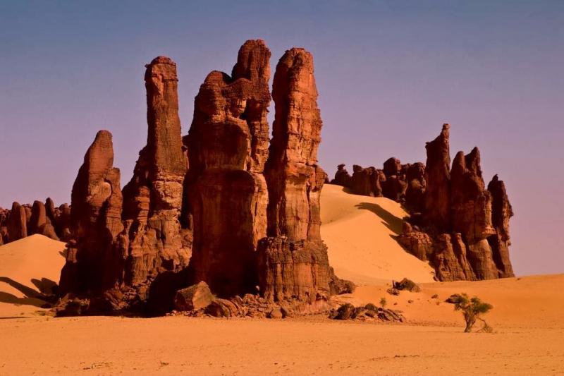 Phong cảnh vô cùng độc đáo tại Ennedi